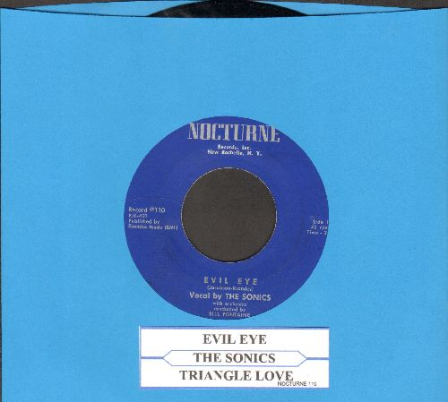 Sonics - Evil Eye/Triangle Love (with juke box label) - NM9/ - 45 rpm Records