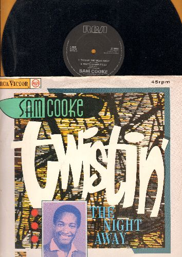 Cooke, Sam - Twistin' The Night Away/That's Where It's At/Bring It On Home To Me/Sombody Have Mercy (12 inch 45rpm Maxi Single, British Pressing with picture cover) - NM9/EX8 - LP Records