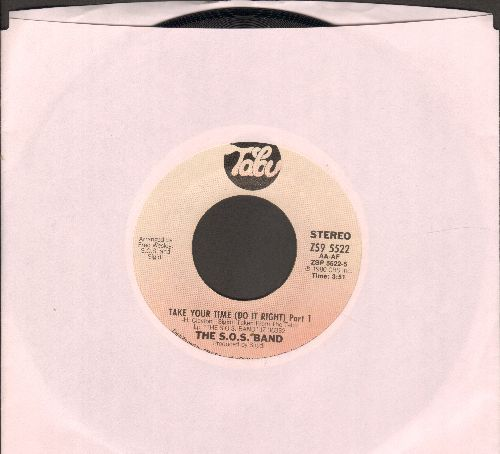 S.O.S. Band - Take Your Time (Do It Right) (Parts 1+2) (MINT condition!) - M10/ - 45 rpm Records