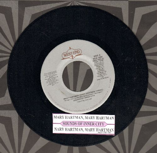 Sounds Of Inner City - Mary Hartman, Mary Hartman (Vocal and Instrumental version, with juke box label) - NM9/ - 45 rpm Records