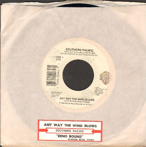 Southern Pacific - Any Way The Wind Blows/Reno Bound (with juke box label and Warner Brothers company sleeve) - NM9/ - 45 rpm Records