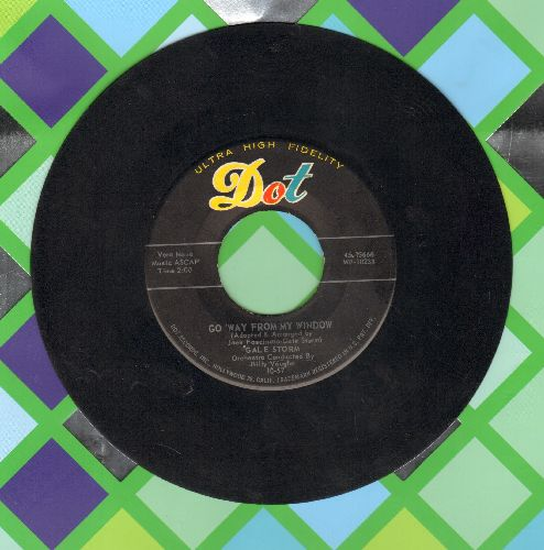 Storm, Gale - Go Away From My Window/Winter Warm  - VG7/ - 45 rpm Records