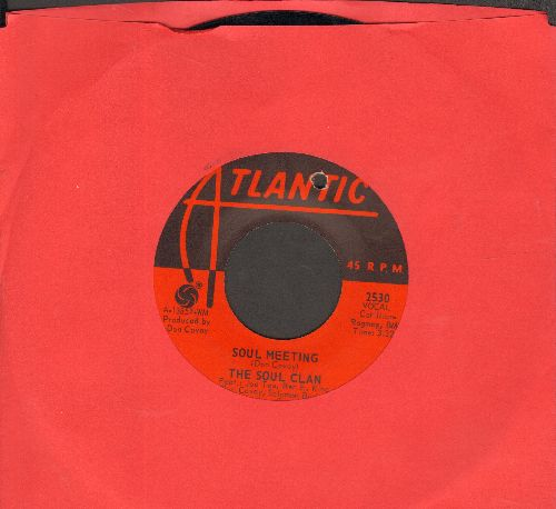 Soul Clan - Soul Meeting/That's How It Feels (bb) - NM9/ - 45 rpm Records