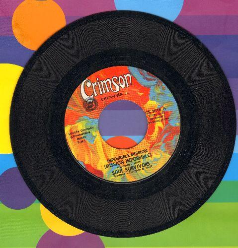 Soul Survivors - Impossible Mission (Mission Impossible)/Poor Man's Dream - NM9/ - 45 rpm Records