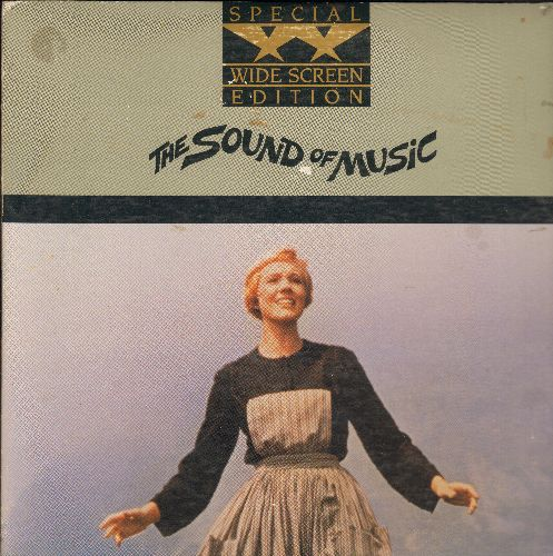 Sound Of Music - Sound Of Music LASERDISC starring Julie Andrews and Christopher Plummer (2 Disc Widescreen) - NM9/EX8 - LaserDiscs