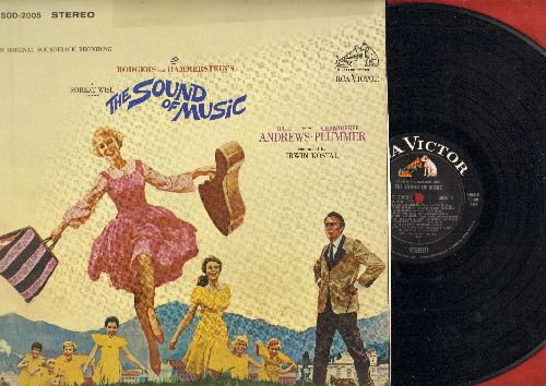 Sound of Music - The Sound Of Music - Oriignal Motion Picture Soundtrack (Vinyl STEREO LP record) - EX8/VG6 - LP Records