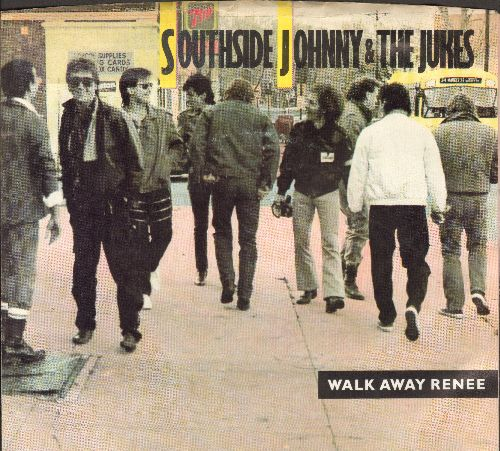 Southside Johnny & The Jukes - Walk Away Renee/I Can't Wait (with picture sleeve) - NM9/EX8 - 45 rpm Records