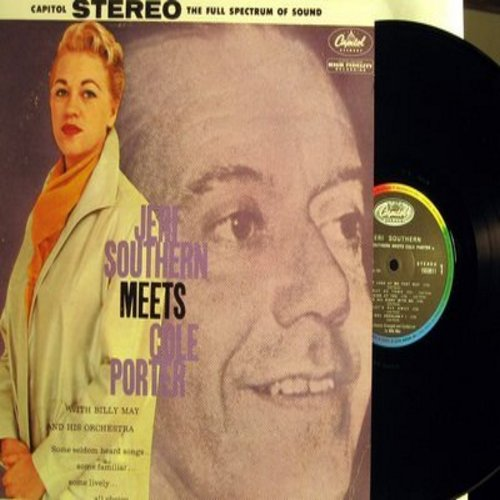 Southern, Jeri - Jeri Southern Meets Cole Porter: You're The Top, Let's Fly Away, It's All Right With Me, Get Out Of Town (Vinyl MONO LP record, 1984 French Pressing of vintage recordings) - M10/M10 - LP Records