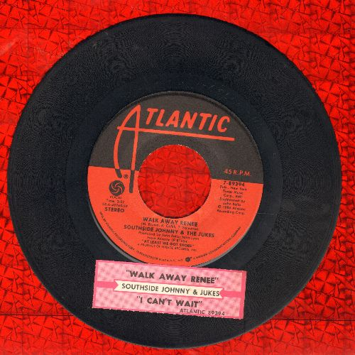 Southside Johnny & The Jukes - Walk Away Renee/I Can't Wait (with juke box label) - EX8/ - 45 rpm Records