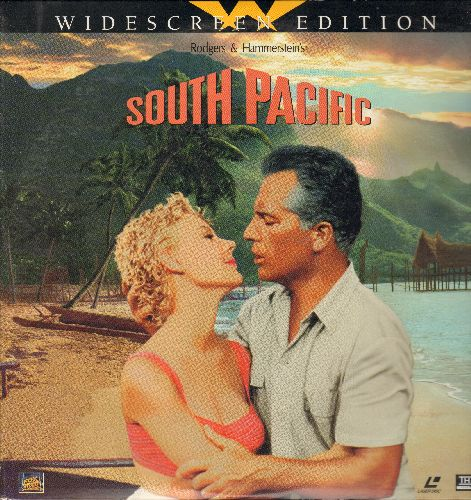 South Pacific - South Pacific Widescreen Double LASERDISC VERSION Starring Rossano Brazzi and Mitzi Gaynor - NM9/NM9 - LaserDiscs
