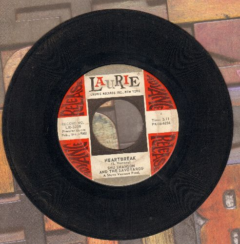 Swanson, Shu & The Savoyards - Heartbreak/The Thing (DJ advance pressing) - VG7/ - 45 rpm Records