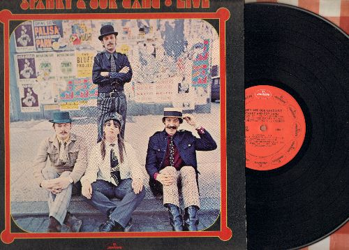 Spanky & Our Gang - LIVE: Waltzing Matilda, Dirty Old Man, Brother Can You Spare A Dime, The Klan (Vinyl STEREO LP record) - NM9/EX8 - LP Records