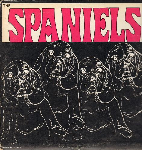 Spaniels - Spaniels: Baby It's You, Goodnight Sweetheart Goodnight, Stormy Weather, Since I Fell For You (2 vinyl LP records in gate-fold cover, 1980s re-issue of vintage Doo-Wop recordings) - NM9/EX8 - LP Records