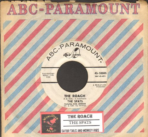 Spats - The Roach/Gator Tails And Monkey Ribs (DJ advance pressing with vintage ABC-Paramount company sleeve and juke box label) - VG7/ - 45 rpm Records