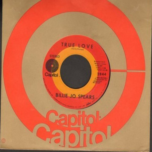 Spears, Billie Jo - True Love/Marty Gray - EX8/ - 45 rpm Records