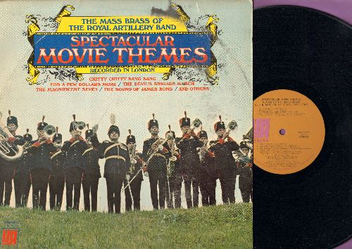 Royal Artillery Band - Spectacular Movie Themes: The Magnificent Seven, The Sound Of James Bond, Chitty Chitty Bang Bang, The Great Escape (Vinyl STEREO LP record) - NM9/VG7 - LP Records