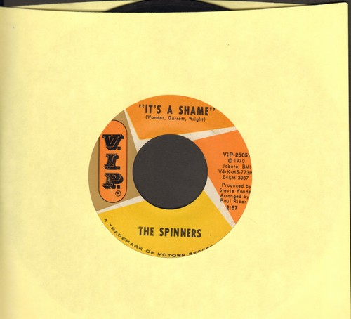 Spinners - It's A Shame/Together We Can Make Such Sweet Music (wol) - VG7/ - 45 rpm Records