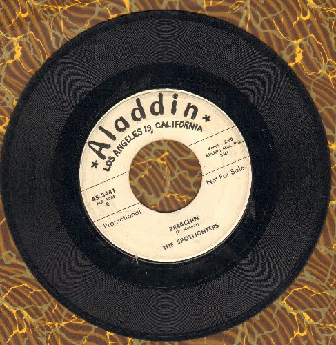 Spotlighters - This Is My Story Cha Cha Cha/Preachin' (DJ advance pressing) - VG7/ - 45 rpm Records