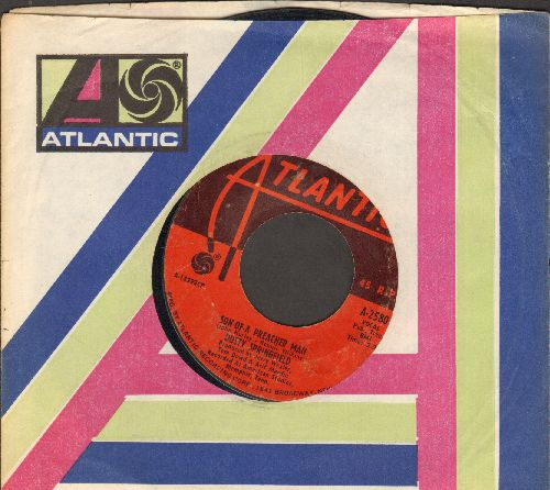 Springfield, Dusty - Son Of-A Preacher Man/Just A Little Lovin' (Early In The Mornin') (with Atlantic company sleeve) - VG7/ - 45 rpm Records