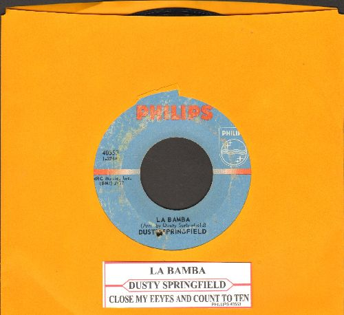 Springfield, Dusty - La Bamba/Close My Eyes And Count To Ten (with juke box label) (bb) - EX8/ - 45 rpm Records