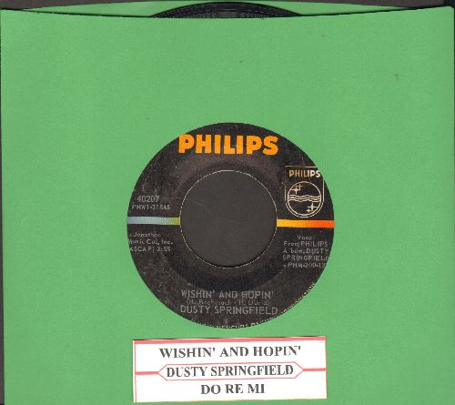 Springfield, Dusty - Wishin' And Hopin'/Do Re Mi (with juke box label) - EX8/ - 45 rpm Records