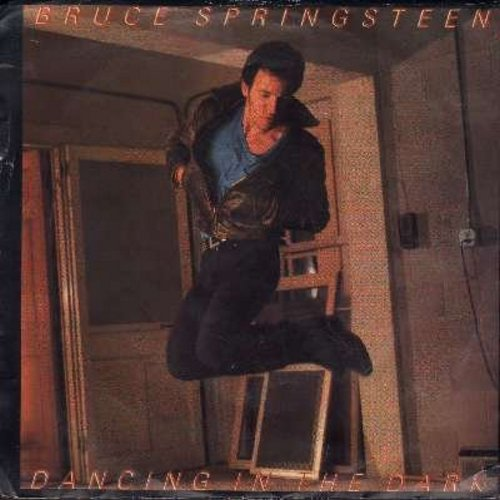 Springsteen, Bruce - Dancing In The Dark/Pink Cadillac (with picture sleeve) - EX8/EX8 - 45 rpm Records