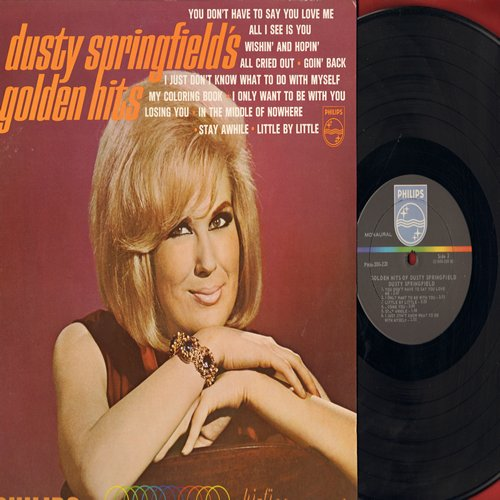 Springfield, Dusty - Golden Hits: You Don't Have To Say You Love Me, Wishin' And Hopin', I Only Want To Be With You, Stay Awhile (vinyl MONO LP record, NICE condition!) - NM9/EX8 - LP Records
