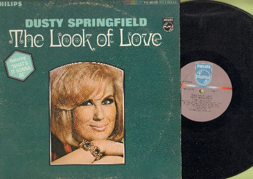 Springfield, Dusty - The Look Of Love: What's It Gonna Be, Welcome Home, Sunny, They Long To Be Close To You (vinyl STEREO LP record) - EX8/VG7 - LP Records