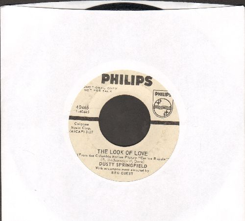Springfield, Dusty - The Look Of Love/Give Me Time (L'Amore Se Ne Va) (DJ advance pressing) - EX8/ - 45 rpm Records