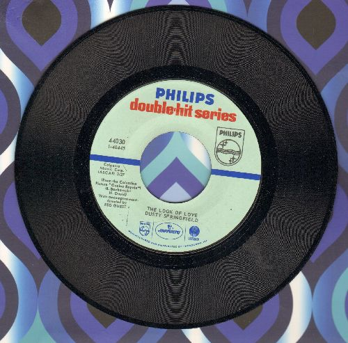 Springfield, Dusty - The Look Of Love/I'll Try Anything (double-hit re-issue) - NM9/ - 45 rpm Records
