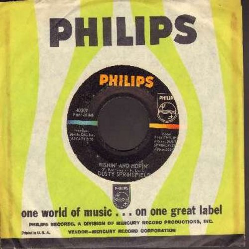 Springfield, Dusty - Wishin' And Hopin'/Do Re Mi (with Philips company sleeve) - NM9/ - 45 rpm Records