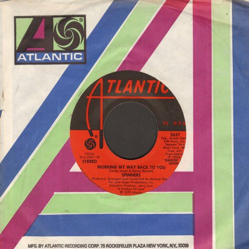Spinners - Working My Way Back To You/Disco Ride - NM9/ - 45 rpm Records