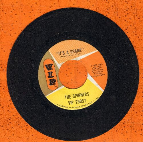 Spinners - It's A Shame/Together We Can Make Sweet Music  - VG6/ - 45 rpm Records