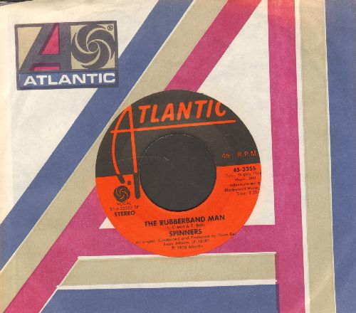 Spinners - Rubberband Man/Now That We're Together (with Atlantic company sleeve) - NM9/ - 45 rpm Records