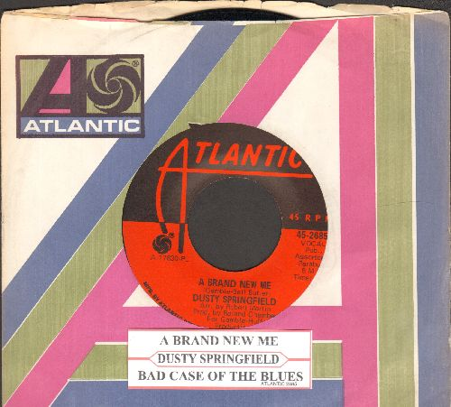 Springfield, Dusty - A Brand New Me/Bad Case Of The Blues (with Atlantic company sleeve and juke box label) - EX8/ - 45 rpm Records