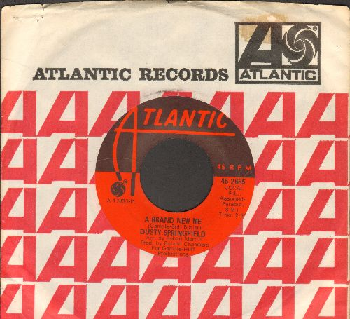 Springfield, Dusty - A Brand New Me/Bad Case Of The Blues (with vintage Atlantic company sleeve) - NM9/ - 45 rpm Records
