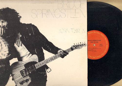 Springsteen, Bruce - Born To Run: Thunder Road, Backstreets, She's The One (vinyl STEREO LP record, gate-fold cover) - NM9/EX8 - LP Records