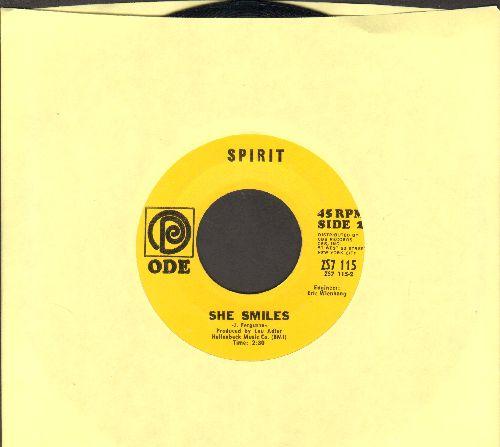 Spirit - She Smiles/I Got A Line On You - NM9/ - 45 rpm Records