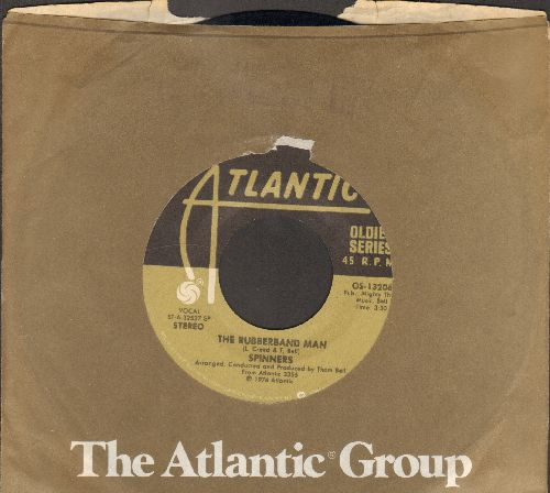 Spinners - The Rubber Band Man/If You Wanna Do The dance (double-hit re-issue with Atlantic company sleeve) - EX8/ - 45 rpm Records