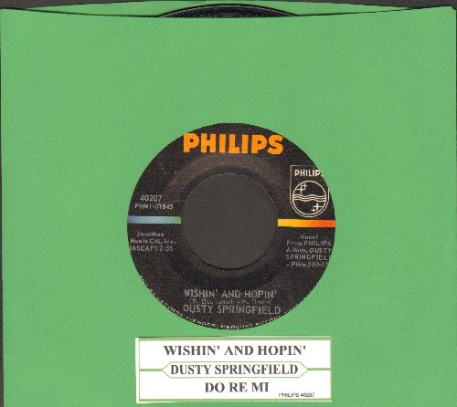 Springfield, Dusty - Wishin' And Hopin'/Do Re Mi (with juke box label) - VG7/ - 45 rpm Records