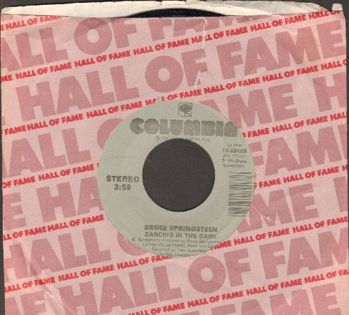 Springsteen, Bruce - Dancing In The Dark/Pink Cadillac (with company sleeve) - NM9/ - 45 rpm Records