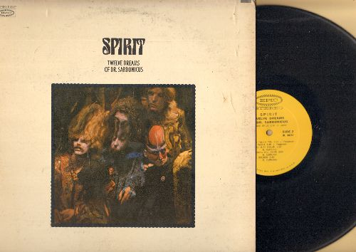 Spirit - Twelve Dreams Od Dr. Sardonicus: Animal Zoo, Morning Will Come, Space Child, Soldier, Love Has Found A Way (Vinyl STEREO LP record, gate-fold cover) - EX8/VG7 - LP Records