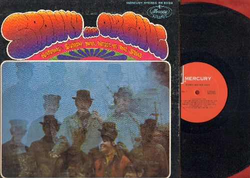 Spanky & Our Gang - Spanky & Our Gang - Featuring Sunday Will Never be The Same: Lazy Day, Jet Plane, Brother Can You Spare A Dime (vinyl STEREO LP record, gate-fold cover) - NM9/EX8 - LP Records