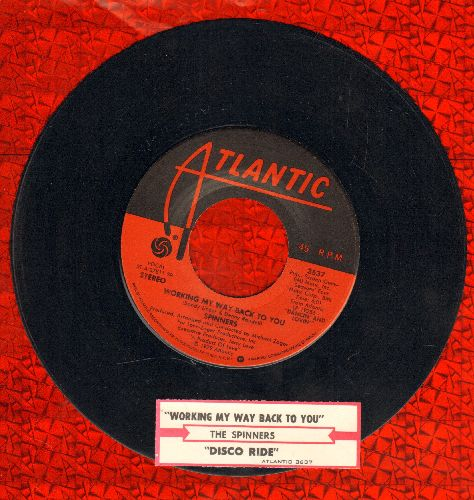 Spinners - Working My Way Back To You/Disco Ride (with juke box label) - EX8/ - 45 rpm Records
