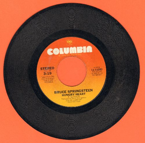 Springsteen, Bruce - Hungry Heart/Held Up Without A Gun - VG7/ - 45 rpm Records