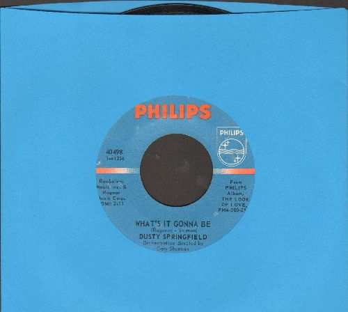 Springfield, Dusty - What's It Gonna Be/Small Town Girl - EX8/ - 45 rpm Records