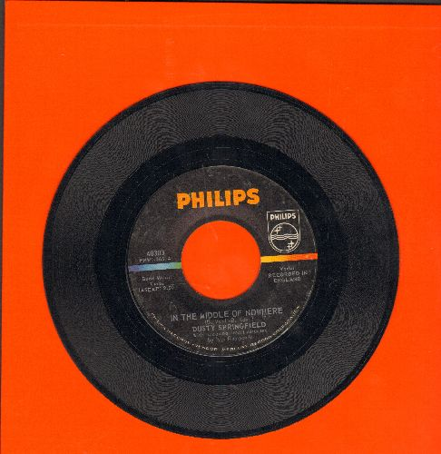 Springfield, Dusty - In The Middle Of Nowhere/Baby, Don't You Know - EX8/ - 45 rpm Records