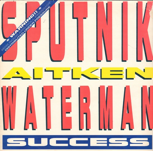 Sputnik - Success (Extended Club Mix)/Success (7 Inch Mix)/Frankenstein Cha Cha Cha (Etended Club Mix) (12 inch 45rpm vinyl Maxi Single with picture cover, British Pressing) - M10/NM9 - LP Records