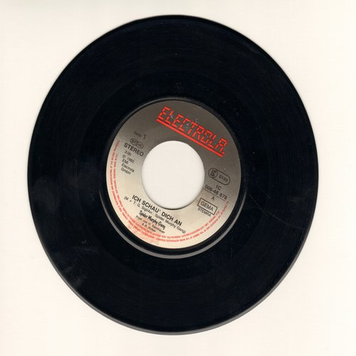Spider Murphy Gang - Ich schau dich an/So a schoner Tag (German pressing, sung in German - One of the big hits during German New Wave Era of the early 80s!) - EX8/ - 45 rpm Records