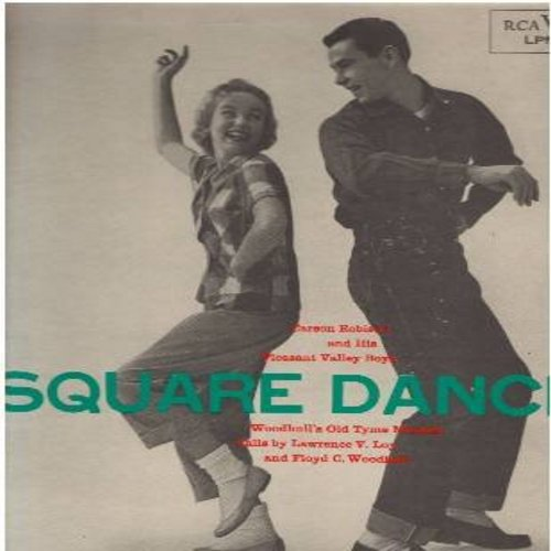 Robinson, Carson & His Pleasant Valley Boys - Square Dances: Golden Slippers, Pop Goes The Weasel, Triple Right And Left Four, Comin' Round The Mountain, Spanish Cavaliero (Vinyl MONO LP record, 1970s issue of 1956 recordings) - NM9/NM9 - LP Records